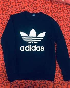 Sweater Adidas Firebird Navy (biru) Size M kondisi like new. NETY