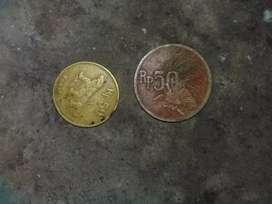 Jual berbagai uang kuno logam
