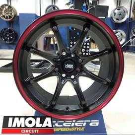 Veleg Racing Ring 16 Mobil Alya Calya HSR WHEEL R16x75 Pcd 8x100-114,3