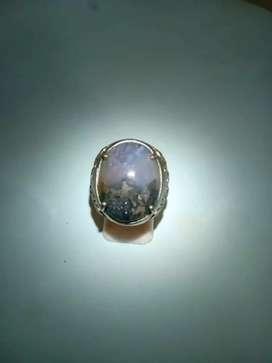 Cincin Lavender Pasir Emas