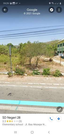 Dijual Tanah di Jl. Bau Massepe, disamping SDN 28 Pare pare