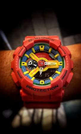 Casio G-Shock Watch GA-110FC-1A (G358)
