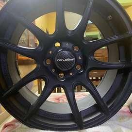 Orginal Lenso Raiden Alloy Wheel (15 inch 5 Hole)