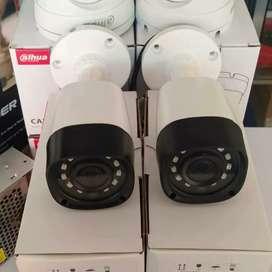 Paket 4 Kamera Dahua 2 MP Full HD Lengkap + Pemasangan
