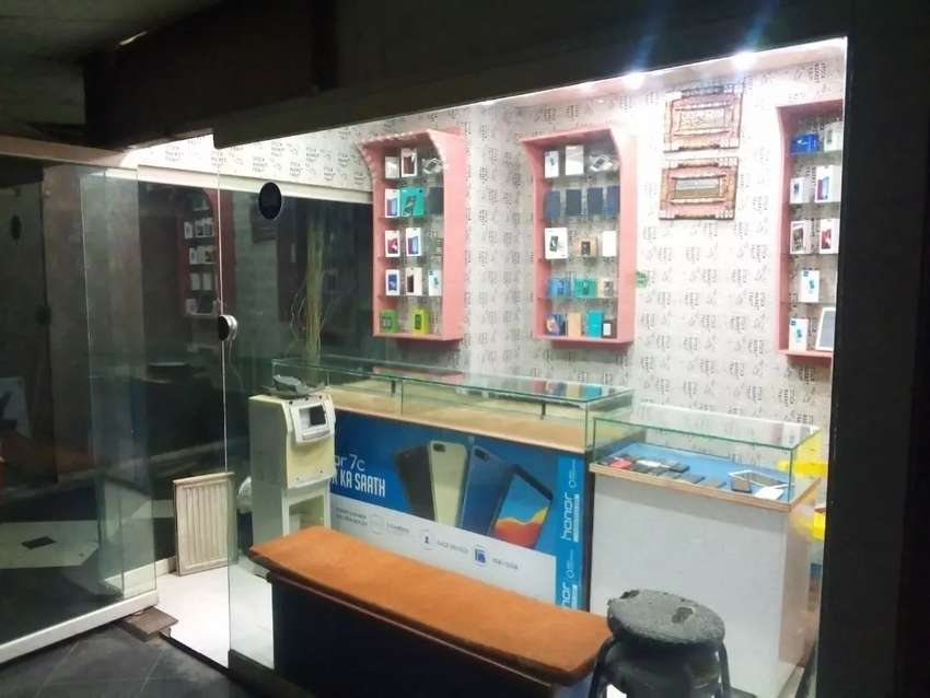 For rent trade center Gujranwala shop at first floor 0