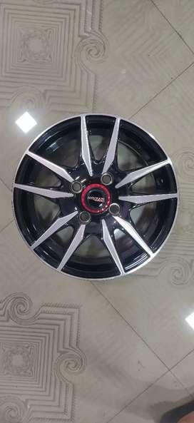 13inch 100pcd Alloy wheels