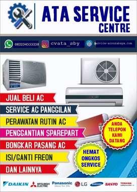 service/cuci ac service showcase berembun di kenjeran surabaya