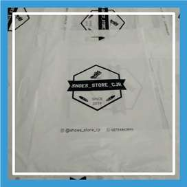 Sablon Plastik Ziplock, Klip, Plong HD, Kresek Murah Solok Kota