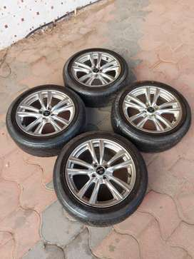 Maruthi,Toyota,Hyundai,Honda etc vehicles using 16 inch tyre alloy