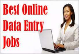 DATA ENTRY PART TIME JOB