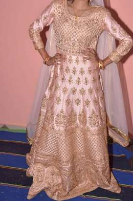 Gown pink colour