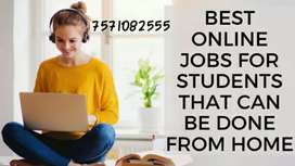 Vacancy for back office in / india home based