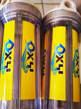 Filter air minum isi ulang Bio Aktif sistem knock down