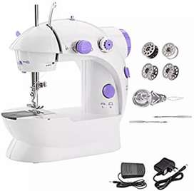 Portable Sewing Machine  with Adjustable 2-Speed Double
