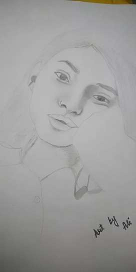 Those who want to draw their potrait plz contact me