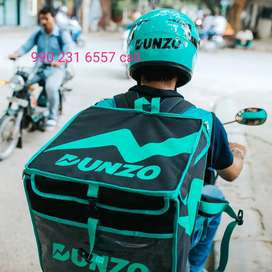 Hyd food grocery delivery job part time full time