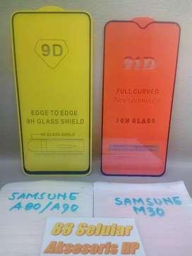 Tempered Glass Full Layar Samsung Vivo Oppo Iphone
