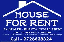 3BHK for family and bachelor's. Contact soon houses available