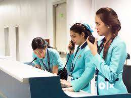 Airport Ground staff for Air Ticketing Officer(Salary- 18k to 25k) 0