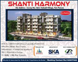 Properties at 16.5to 38 lakh in Panvel near airport