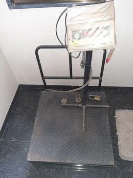 Weight machine till 500 kg for industrial purpose
