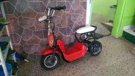 Skuter scooter listrik mr jackie