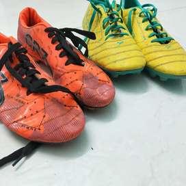 2 football shoes