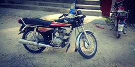 Honda cg 125 2011 model bist candtion
