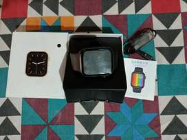 W 26+ new modale and black colour smart watch