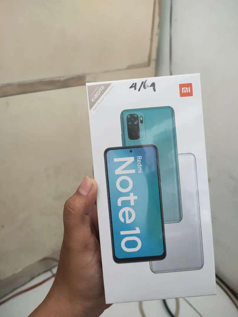 Redmi Note10 4/64gb Garansi resmi Termurah