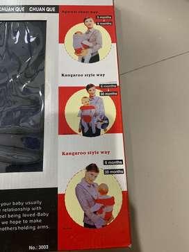 Chuan Que modernize soft baby carrier (gendongan bayi)