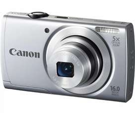 Canon Camera A2500 16 MP 5X Optical zoom Point and shoot camera