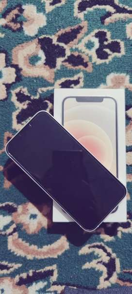 iPhone 12-64GB - WHITE -4 months old