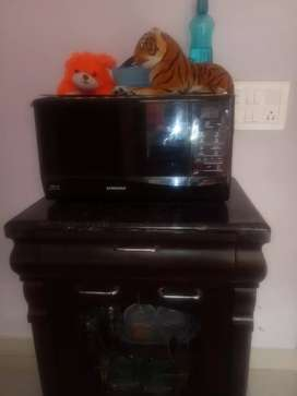 Oven and tv unit