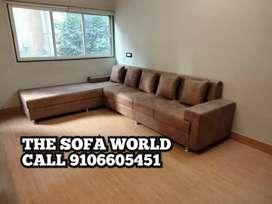 Elentra model longer cum sofa with 5 years warranty