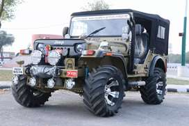 All modified jeeps available