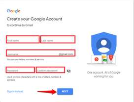 Gmail ID Creation