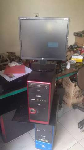 "Jual komputer lengkap siap pake...monitor LED Acer 16"""