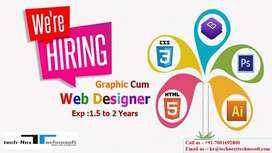 Experienced Graphic cum Website Designer