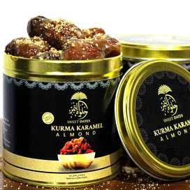 open PO kurma karamel almond