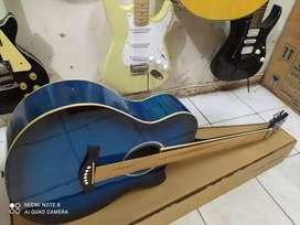 Gitar akustik Caesar original baru tanam besi new