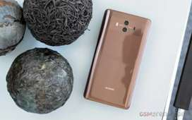Huawei mate 10 , 4gb/64gb ,platinum gold plated