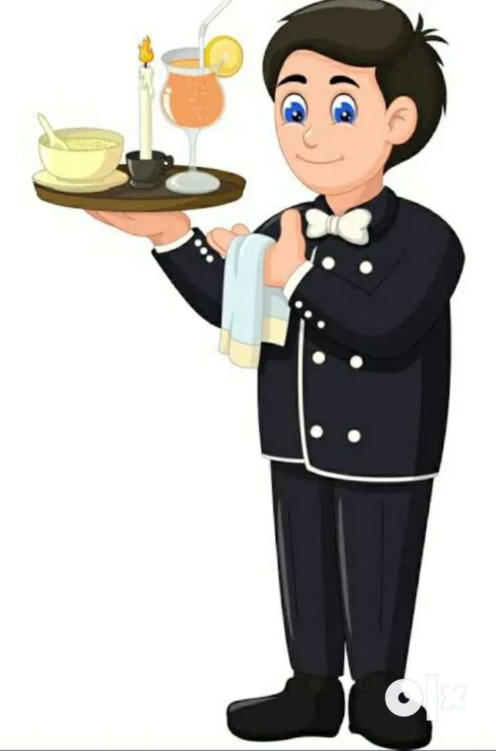 Waiter required for Beach Resort at Dapoli 0