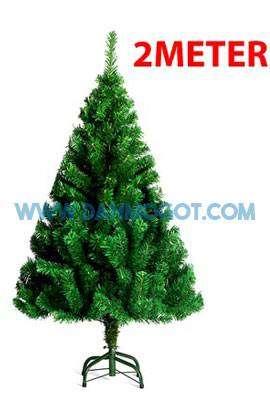 Pohon Natal Warna Hijau 2 meter