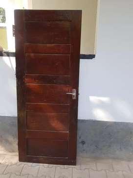 Wood door old one