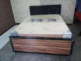 New 5x6.5 queen Iron Bed Heavy Quality Free Delivery and Installation