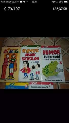 Borongan 5 bh buku cerita humor seru lucu skl cpt dpt yah