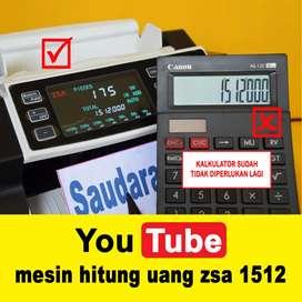 mesin hitung uang zsa 1512 (saudara solo)