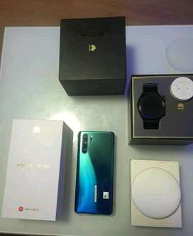 Huawei p30 pro with extra Gt watch 46mm