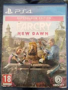 PS4 Farcry New Dawn